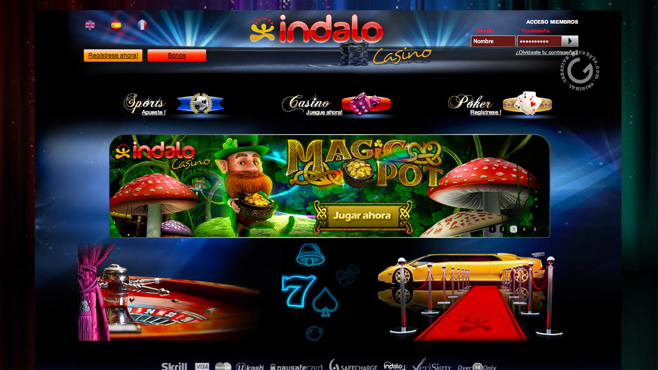 Indalo casino web