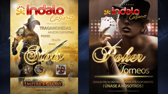 Indalo casino Pósters